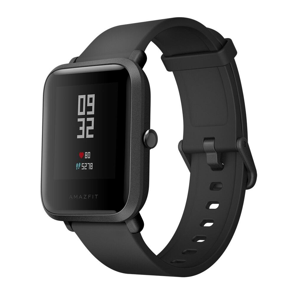 Livraison gratuite AMAZFIT Bip Édition Jeunesse Montre Smart Watch GPS GLONASS Bluetooth 4.0 Moniteur de Fréquence Cardiaque IP68 Étanche Android 4.4