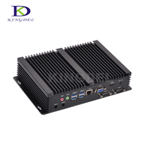 Безвентиляторный barebone PC Core i3 5005U dual core Intel HD Graphics 5500, HDMI, 2 * COM rs232, VGA, USB 3.0, WI-FI, Mini itx компьютер