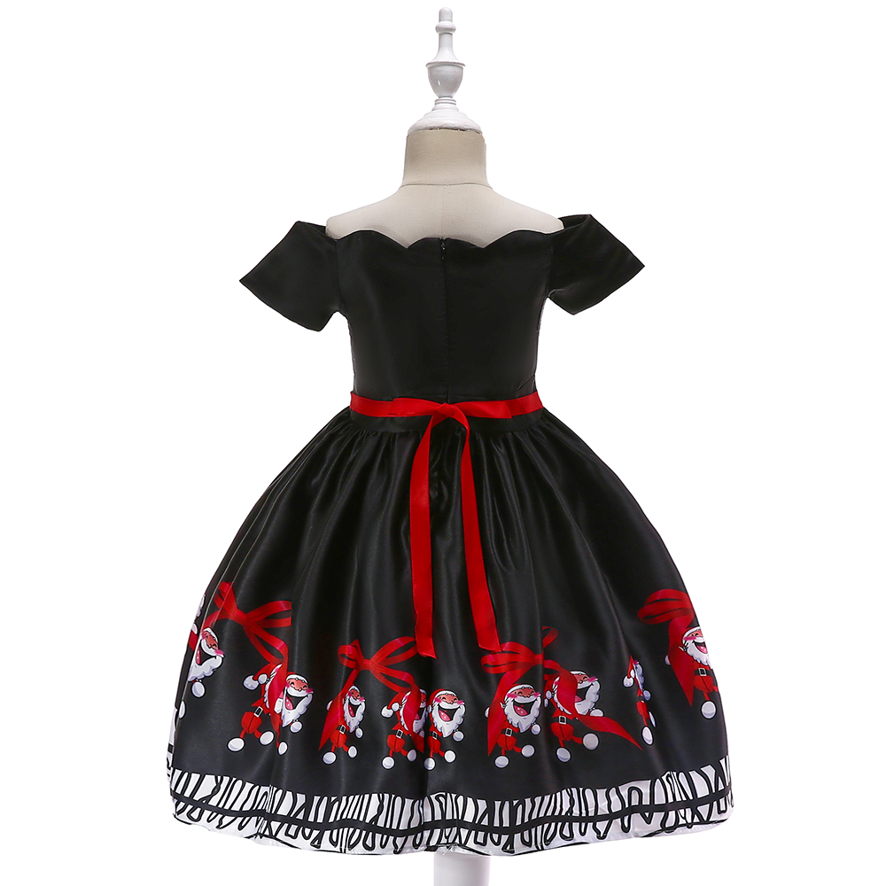 Toddler Christmas Dresses.Us 9 88 18 Off Brand New Kid Christmas Dress For Girl Santa Cartoon Tutu Dresses Children Girl New Year Carnival Party Fancy Princess Outfits In