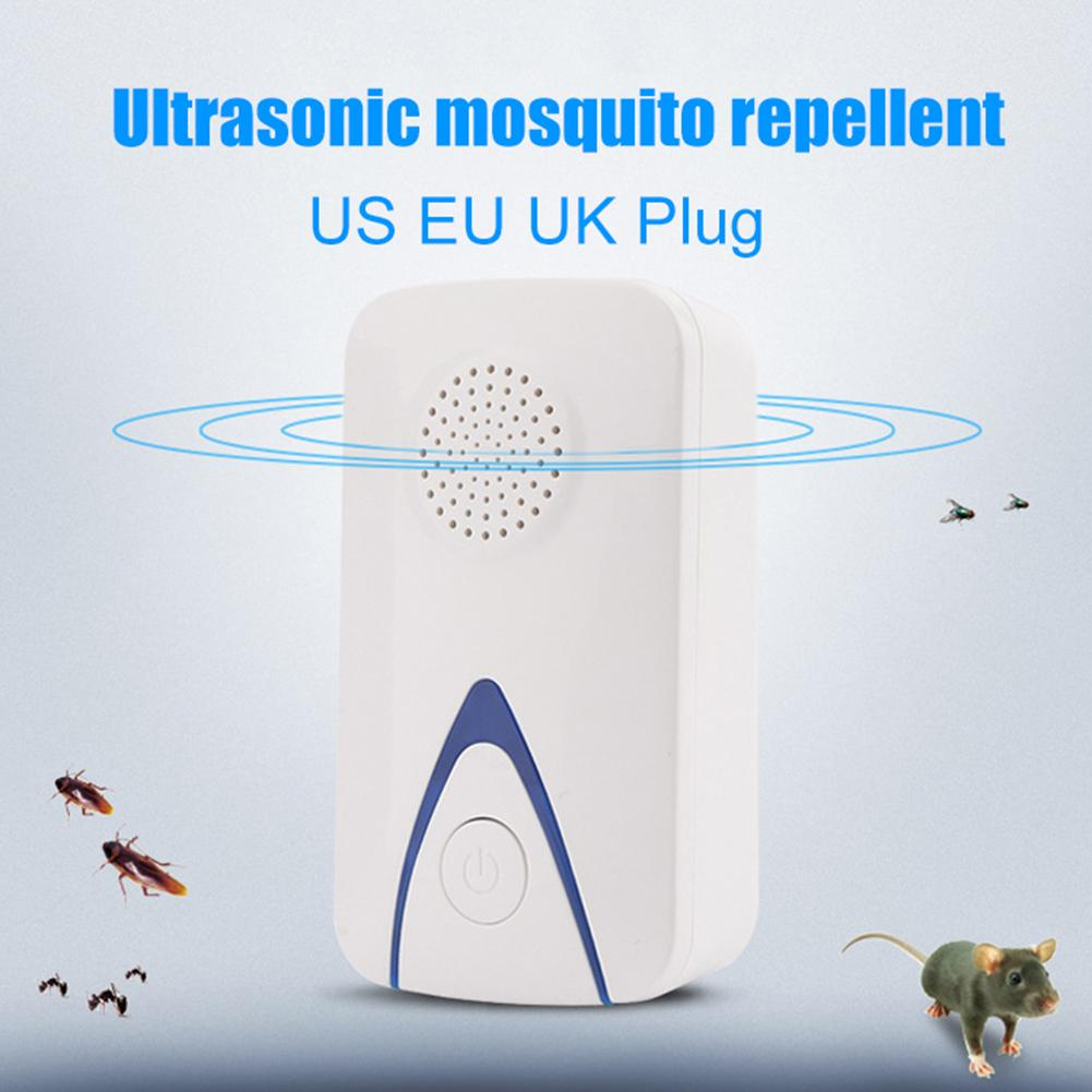 Mini Ultrasonic Electronic Mosquito Mouse Cockroach Repeller Insect Repellent(China)