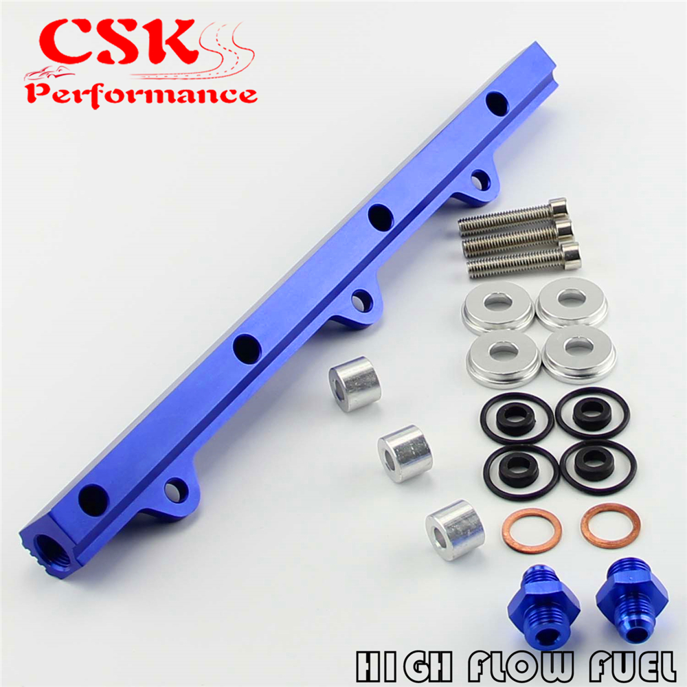 US $19 57 |High Flow Fuel Rail Kit Fit For Mitsubishi Lancer Evolution EVO  1 2 3 4G63 92 96 BL-in Fuel Supply & Treatment from Automobiles &