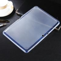 소프트 매트 tpu 젤 커버 case 스킨 samsung galaxy tab 2 10.1 태블릿 gt-p5110 p5100 실리콘 보호 커버 카파