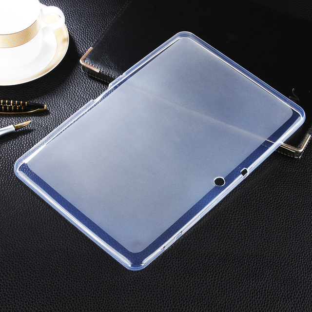 Soft Matte TPU Gel Cover case Skin For Samsung Galaxy Tab 2 10.1 Tablet GT-P5110 P5100 silicone Protective cover capa