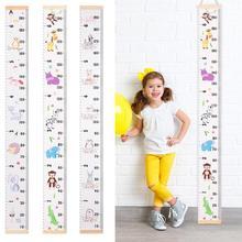 Nordic Stil Baby Kind Kinder Dekorative Wachstum Charts Höhe Herrscher Größe