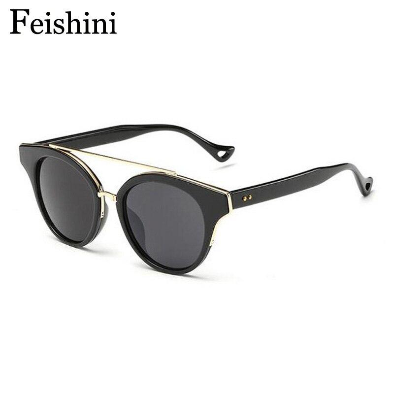 d82277e2bb3858 ᗛFEISHINI Boutique compteurs Qualité Miroir lunettes de Soleil ...