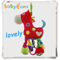 Baby toys Cute Red Horse teether baby rattle crib mobile holder stroller for dolls educational toys for kids toddler toys