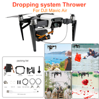 Lightweight Air Thrower for DJI Mavic Air Drone Wedding Ring Gift Fishing Bait Emergency Aids Air Dropping system Thrower