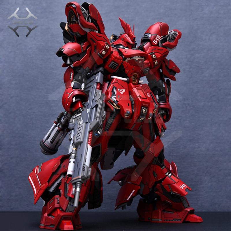 COMIC CLUB Refitting ชุด Sazabi GK 2.0 สำหรับ Gundam MG 1/100 MSN 04 Sazabi Ver. Ka-ใน ฟิกเกอร์แอคชันและของเล่น จาก ของเล่นและงานอดิเรก บน   1