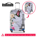 Dispalang The famous Eiffel Tower print luggage cover for 18-30 inch trolley suitcase thick elastic trunk case covers wholesale
