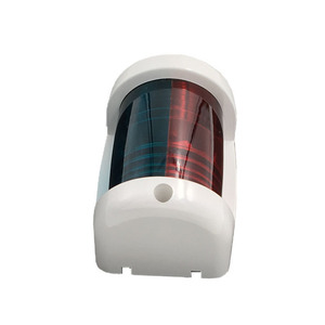 Image 2 - أحمر أخضر ثنائية اللون LED أضواء الملاحة 12 V مركبة بحرية يخت الإبحار مصباح إشارة