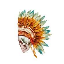 MAMAO Boho черепа утюжок переводной уровень моющийся легко печать бытовые Утюги футболки Diy украшения Патчи