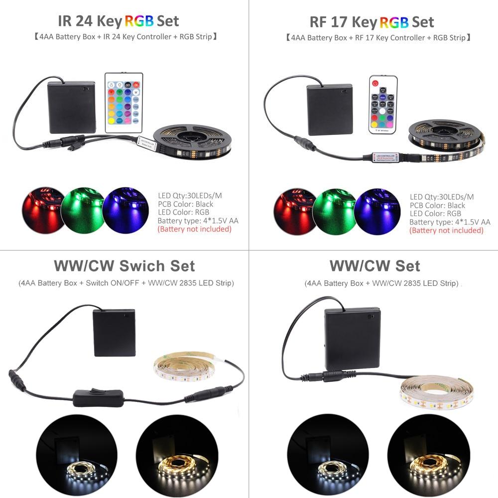 LED Strip Battery Powered