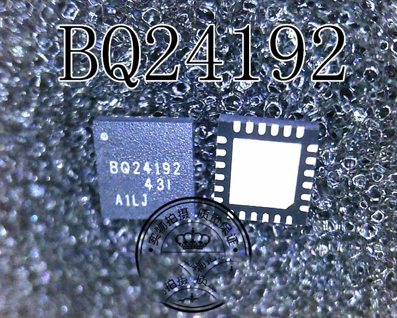 2pcs/lot BQ24192RGER BQ24192 BATT CHARGE MGMT 24VQFN new original free shipping