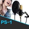 Professional KTV Microphone Mic Wind Sreen Pop Filter Double Layer Mesh Windscreen Studio Microfone Mask Shield Video Recording