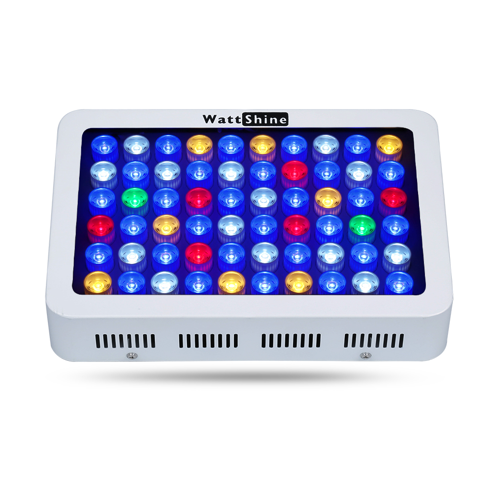 180W Dimmable led aquarium light marine Fish tank System for warehouse and quarim tank coral raise plants Epistar Bulbs Lamps