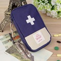 New Outdoor Camping Home Survival Portable First Aid Kit bag Case free shipping(Dark Blue)