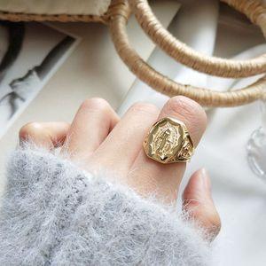 Женское Винтажное кольцо silvologic, элегантные модные кольца из стерлингового серебра 925 пробы с текстурой