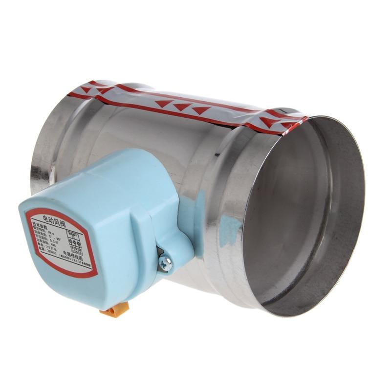 Ventil Heimwerker 4 220 V Ac Edelstahl Elektrische Magnetventil Dämpfer Engen Wasser Dampf Reich An Poetischer Und Bildlicher Pracht