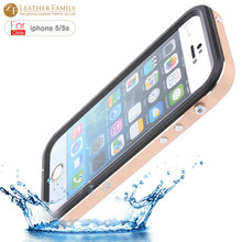 original For iPhone 5s Waterproof Case 6 6ft Underwater Slim Aluminum Metal Case life water Dirt