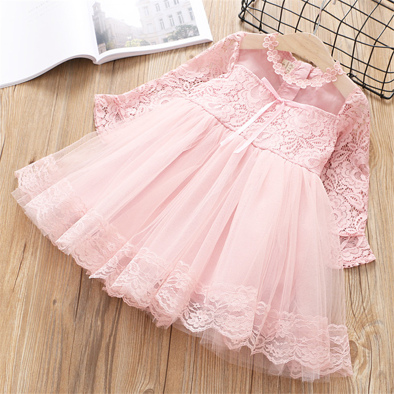 girls clothing 2018 spring autumn new fashion chiffon lace Ball Gown princess kid children girls dress girls clothes 2-7 year azel elegant latest new child dress for 2 3 year old girls vestidos fashion summer kid clothing little girls daily clothes 2017