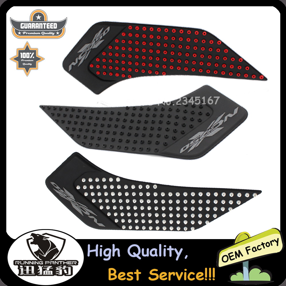 2016 New Arrival Tank Pad Tank Traction Grip Traction Pad Side Gas Knee Traction Pad Tank Kit For HONDA NC750X 2014 2015 2016 кофры komine