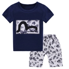 Baby Boys Clothes Set Cotton Baby Clothing Summer Newborn Baby Boy Clothes Suit Shirt+PantsInfant 2017 Clothes Set baby boy clothes summer newborn baby boys clothes set cotton baby clothing suit shirt pants plaid infant clothes set
