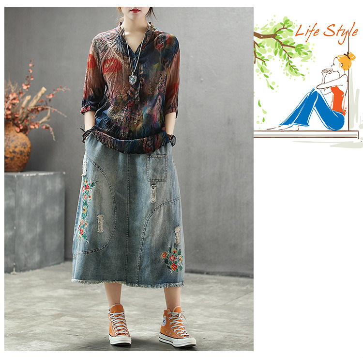 Ladies Printed Chiffon Womens 2