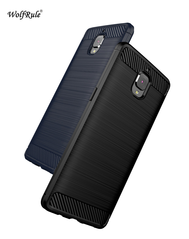 Case For OnePlus 3 Cover Anti Knock TPU Brushed Cover For OnePlus Three OnePlus3 Business Style