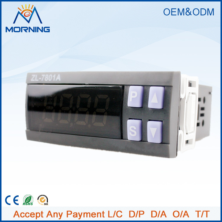 ZL-7801A  AC 185~245V LED Display Digital Multifunctional Automatic Temperature and Humidity Incubator Controller joy automatic zl 07i 500w