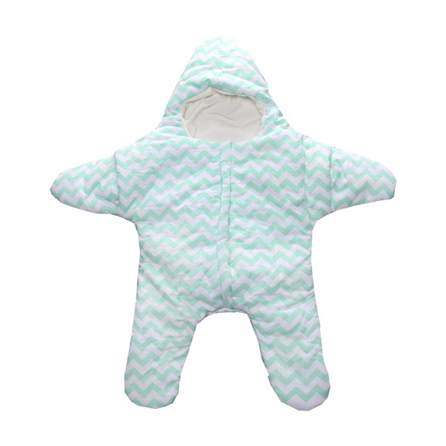 Warm Star Baby Winter Sleep Sack Baby Blanket Swaddle Kids Sleeping Bags