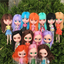 Blyth Dolls Toys Anime DIY Dress up Makeup 30cm 1/6 Fashion Big Eyes Girl Change Eyes Toy for Girl Gifts big eyes