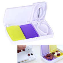 Plastic Smart Travel Pill Case Splitters Medicine Organizer Container Divider Pills Storage Box Tablet Cutter