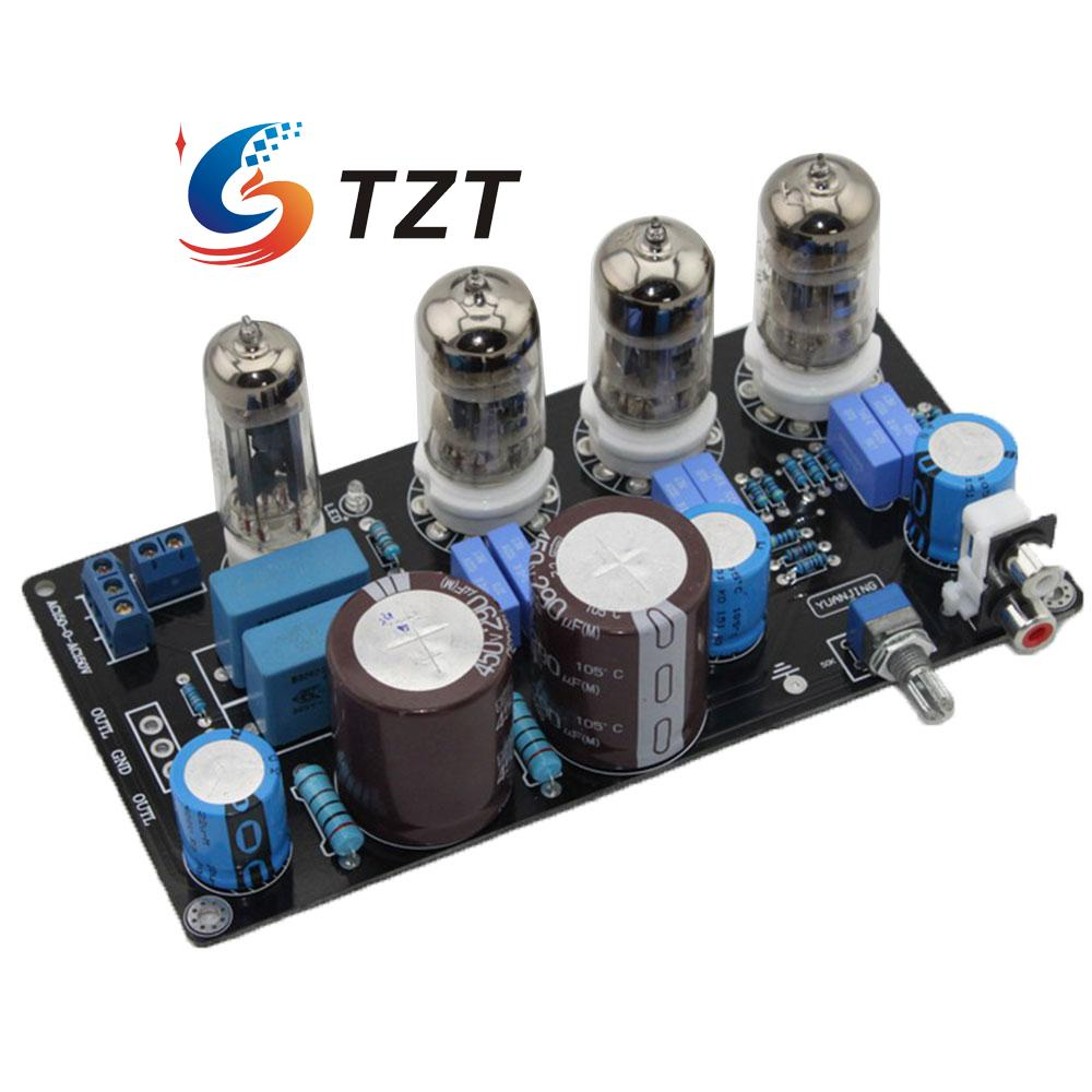 Marantz M7 HIFI 6N4X4 Tube Buffer Audio Preamplifier Pre AMP Board for DIY tiancoolkei x 10d 2 0 original circuit hifi 6n11 tube buffer audio signal tube preamplifier for pure post amplifier