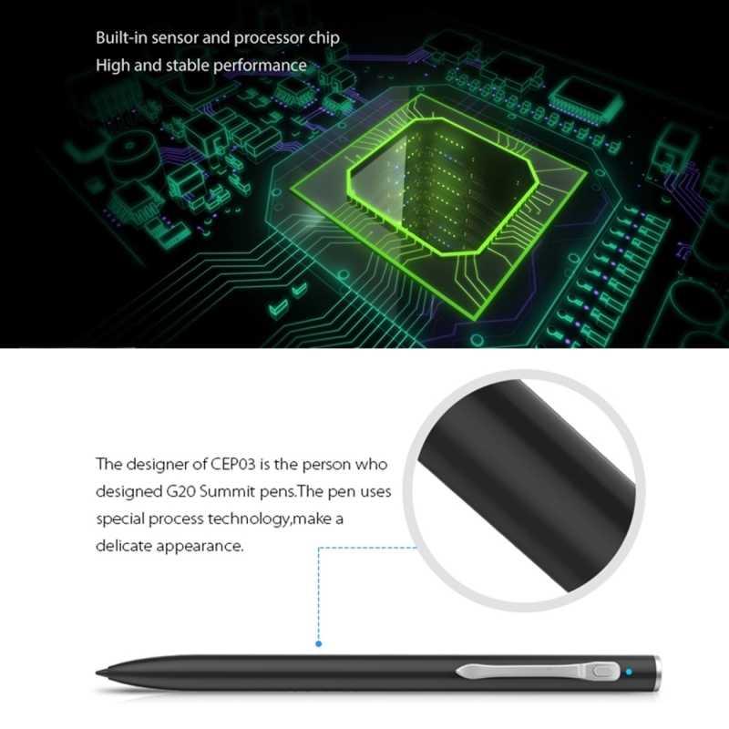 Capacitieve Touchscreen Stylus Pen voor CUBE IWORK1X T10 Tablet PC Touch Pak voor Universal Smart Telefoon Tablet PC Pen