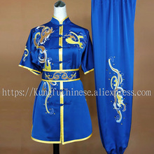 Chinese wushu uniform Kungfu clothing Martial arts clothes taolu suit embroidery costume for men girl boy children women kids