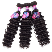 Mornice Hair Malaysian Deep Wave Remy Hair 100 Human Hair Weave 1 Bundle 12 26 Free