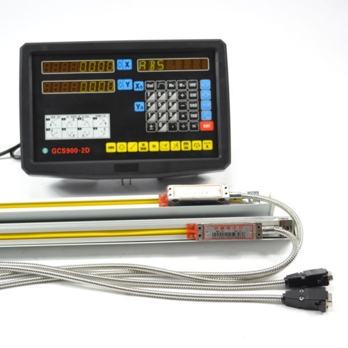 2 Axis Digital Readout Console Display DRO KITS With High Precision Linear Scale Linear Encoder Linear Ruler Optical high precision 0 001mm ttl linear scale 1micron linear encoder 50 100 150 200 250 300 350 400 450mm optical linear ruler