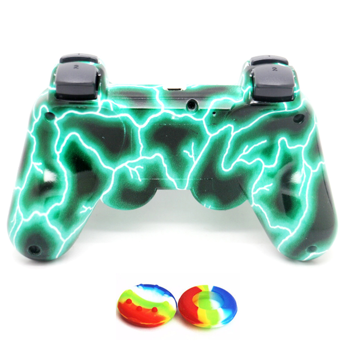 Wireless Gamepad Design Electric Current Wireless Controller for play station 3 PS3 Controller (retail package)