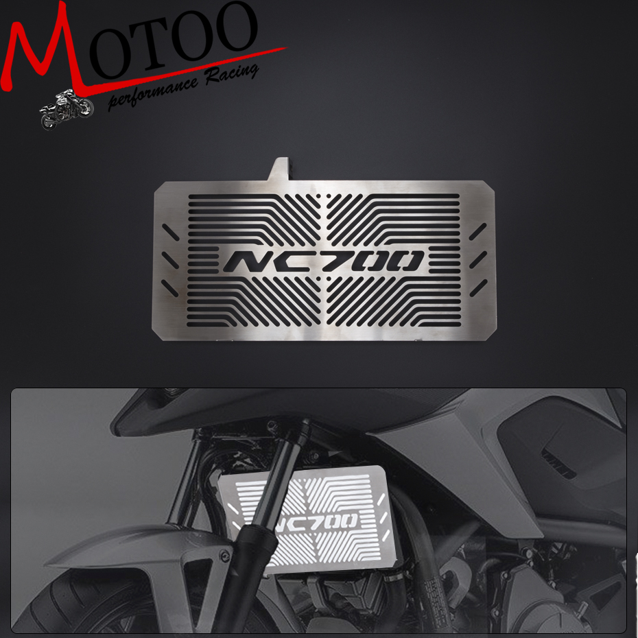 Motoo - Motorcycle Radiator Guard For HONDA NC700 NC 700 S/X NC700S NC700X NC 700S/X 2012 2013 2014 2015 2016 Accessories motorcycle radiator grill grille guard screen cover protector tank water black for bmw f800r 2009 2010 2011 2012 2013 2014