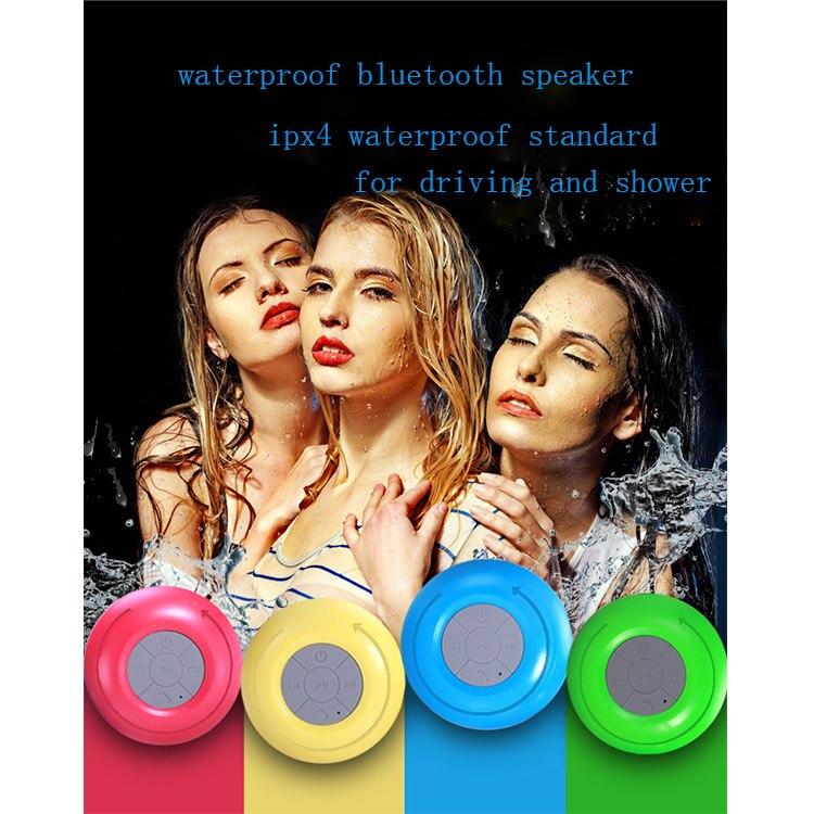 wireless shower speaker mini portable bluetooth speaker subwoofer handsfree speaker for phone listening on driving car speaker