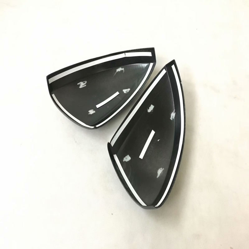 ABS Decoration Rear view Rearview Side Mirror Cover Trim Frame Car Styling For Volkswagen Tiguan L TiguanL MK2 2016 2017 2018 in Chromium Styling from Automobiles Motorcycles