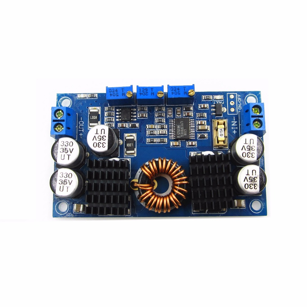 LTC3780 DC-DC 5-32V to 1V-30V 10A Automatic Step Up Down Regulator Charging Module Power supply moduleLTC3780 DC-DC 5-32V to 1V-30V 10A Automatic Step Up Down Regulator Charging Module Power supply module