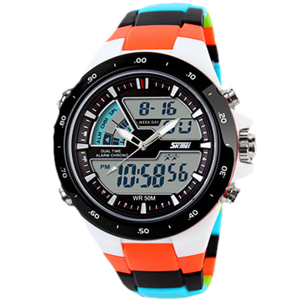 Skmei Men Sport Watches Military Casual Sports Men's Watch Quartz-watch Waterproof Silicone Clock Male S Shock Relogio Masculino