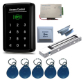 Complete Single Door 125Khz  RFID  Access Control System Kit with Electromagnetic Lock