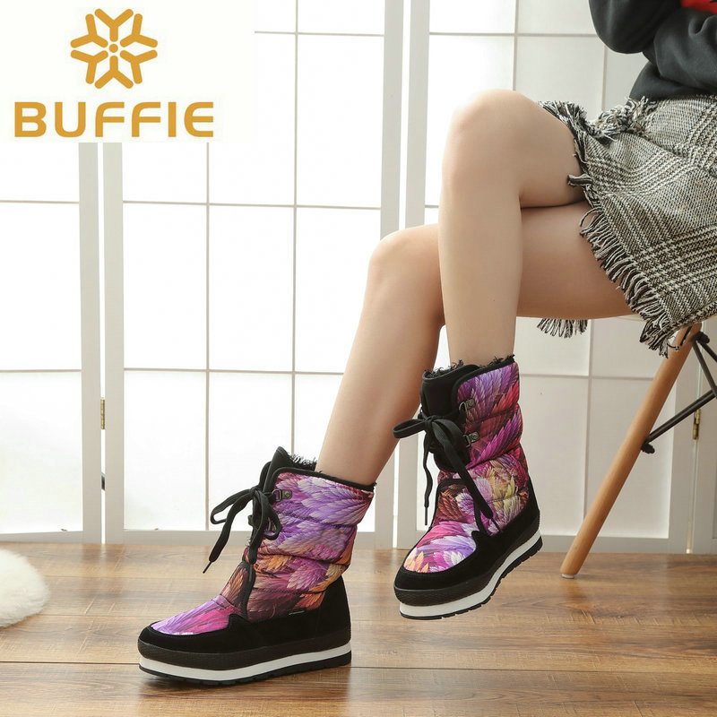 Shoes Women Waterproof Snow boots Women winter Boots hot selling Brand style boots warm winter boots high quality free shipping only true love high quality women boots winter snow boots