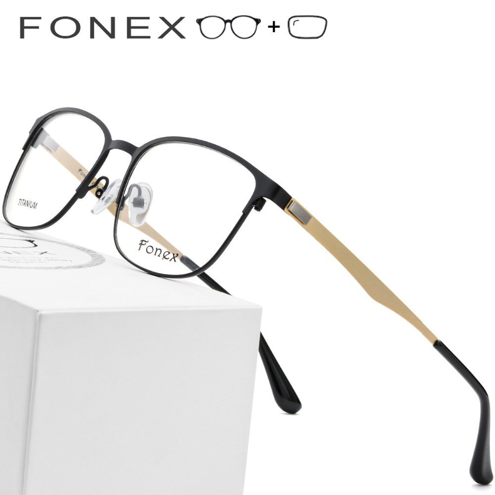 Vintage Legierung Runde Brillen Optische Voller Koreanische 2019 Rahmen Titan Myopie Männer Schraubenlose Frauen tpdaqnw