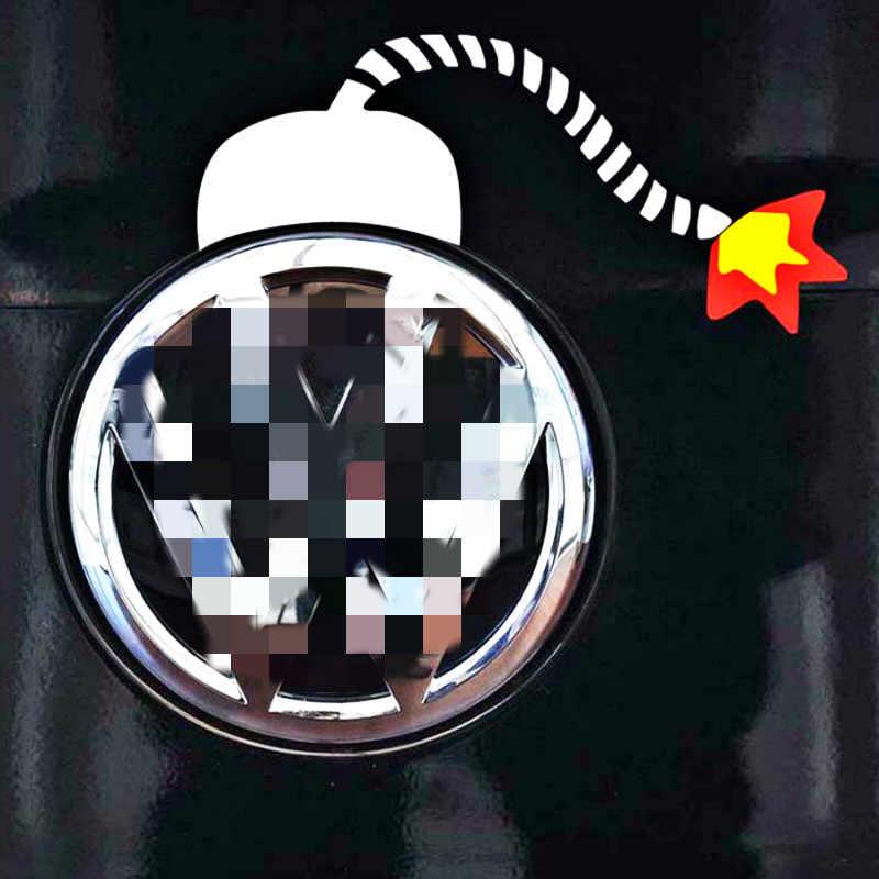 Aliauto 爆弾車のステッカーおかしいデカールロゴ装飾フォルクスワーゲン VW ゴルフ 4 5 6 7 GTI ティグアン Jetta Sagitar パサート b6 b8 ポロ