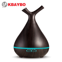 KBAYBO 400ml aroma diffuser ultrasonic air humidifier essential oil diffuser mist maker fogger aromatherapy for home bedroom