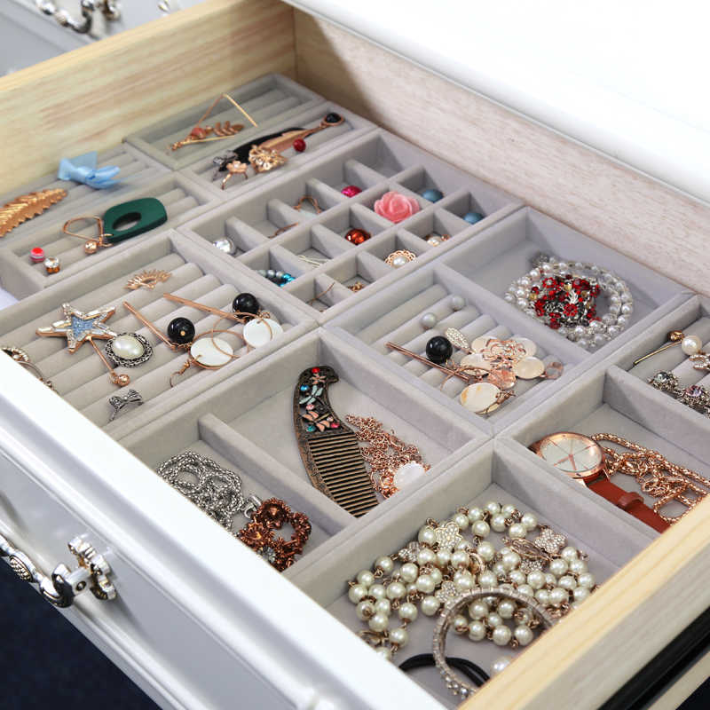 Detail Feedback Questions About Hot Drawer Diy Rings Bracelets Gift Box Jewelry Storage Tray Jewellery Organizer Earrings Holder Small Size Fit Most Room