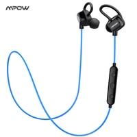 New MPOW Bluetooth Headphones Wireless Earphones Sweatproof Sports Headset Earbuds CVC6 0 Noise Cancelling For Smart